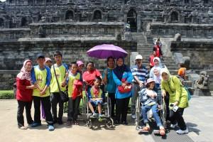 Karya wisata siwa SLB Negeri Salatiga ke Borobudur Magelang